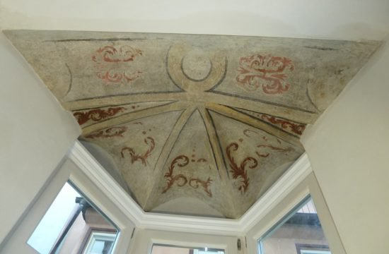 Barocke Deckenmalerei Stadthaus Klausen